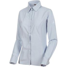 Mammut Aada Longsleeve Shirt Women blue/white